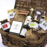 Luxury Organic Willow Hamper