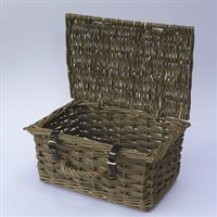 Classic Organic Willow Hamper Basket
