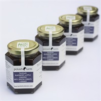 Handmade Blackberry and Apple Conserve with Brandy and Kentish Cobnuts