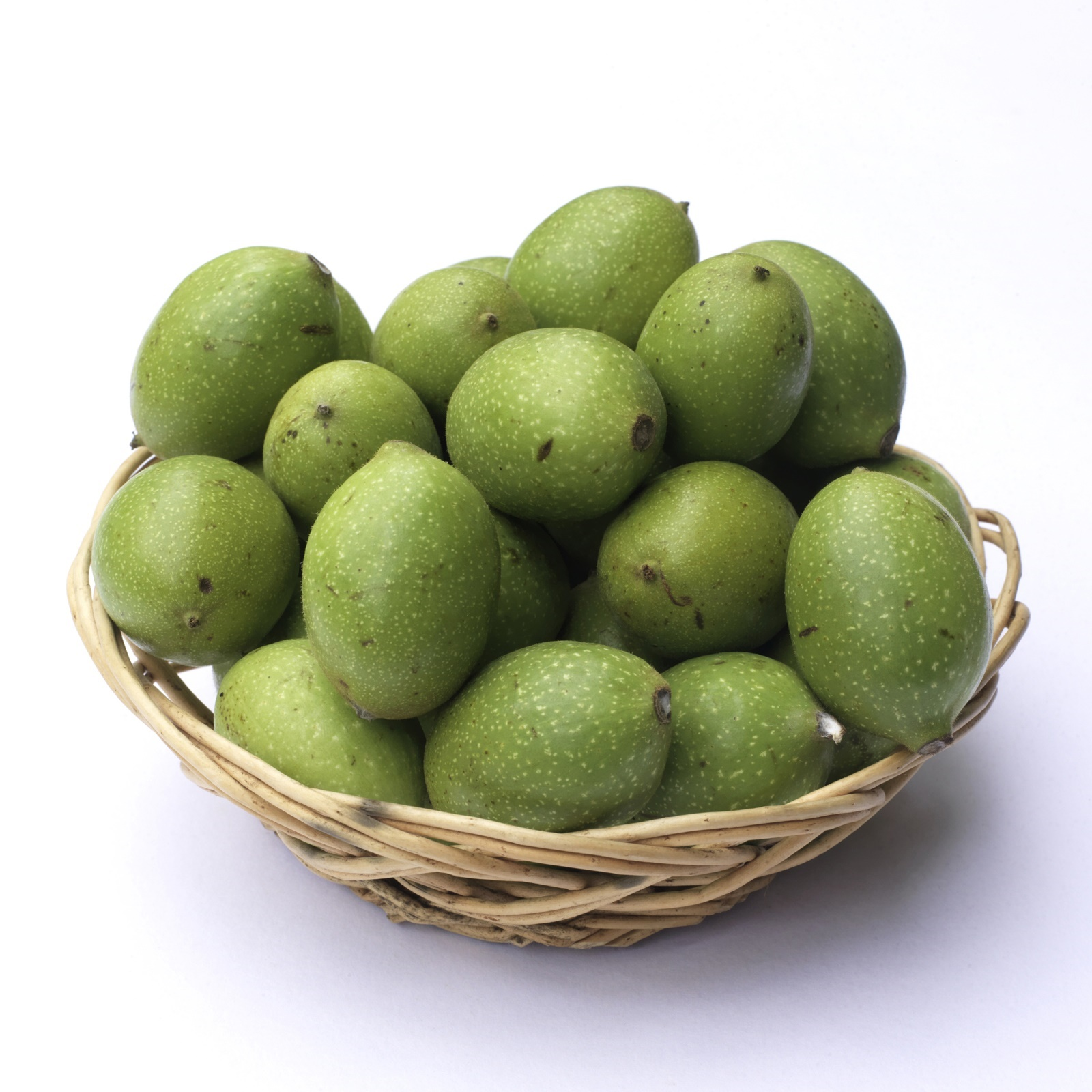 Fresh Green Walnuts for Pickling - The fresh green walnuts from Potash farm are available during a short seasonal two week window in July.
