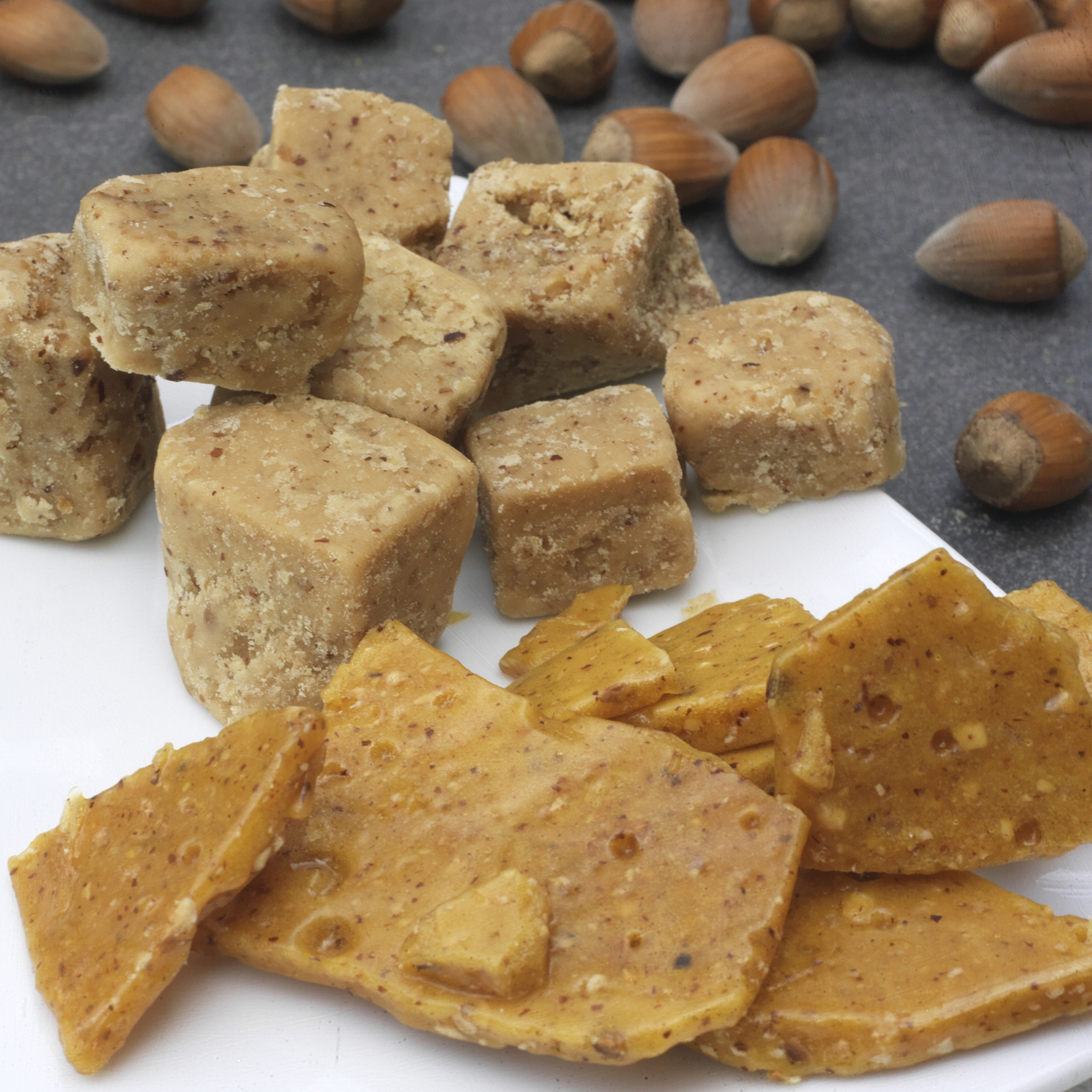 Sensationally Sticky! - Our fudges, brittles, and chocolates make the perfect treat...