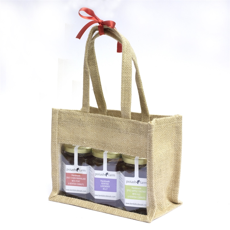 Three Jar Gift Bag