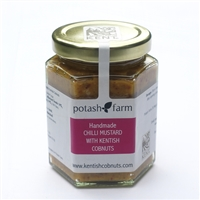 Handmade Chilli Mustard With Kentish Cobnuts