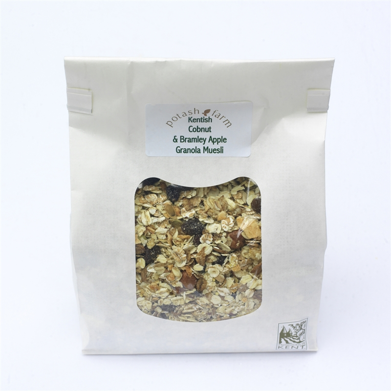 Kentish Cobnut And Bramley Apple Granola Muesli