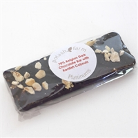 Mini Belgian Dark Chocolate Slab with Kentish Cobnuts