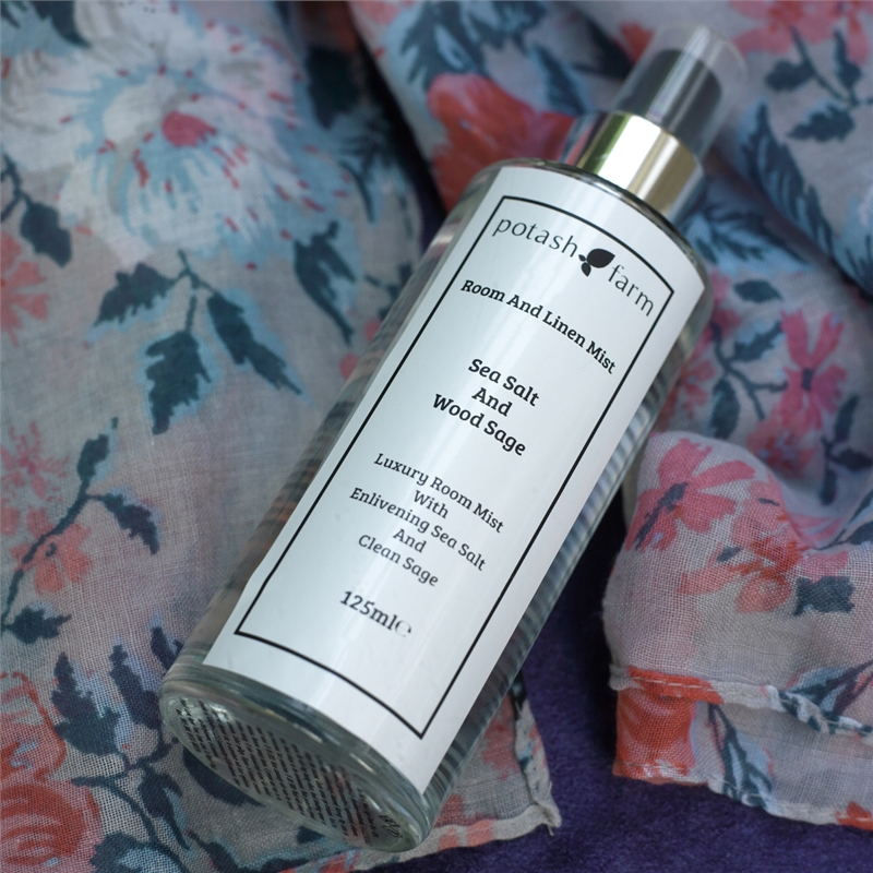 Sea Salt and Wood Sage Room Mist