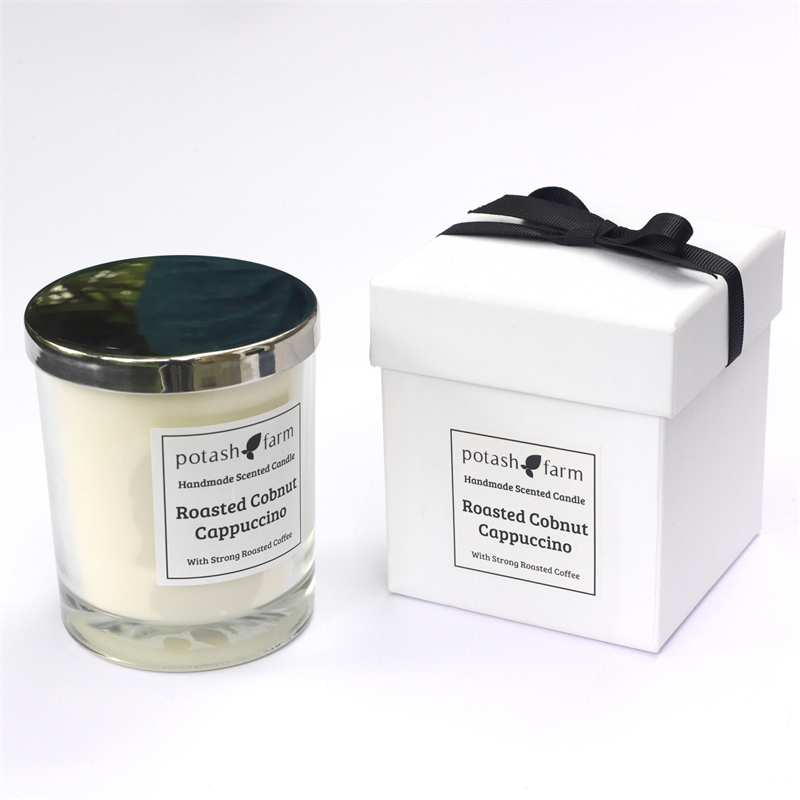 Roasted Cobnut Cappuccino Luxury Candle