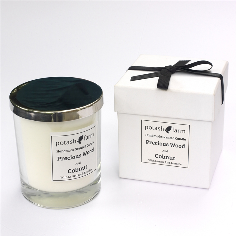 Precious Wood And Cobnut Luxury Candle