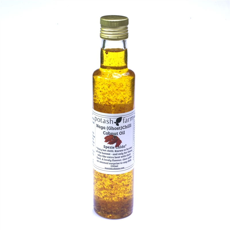 Naga (Ghost) Chilli Cobnut Oil