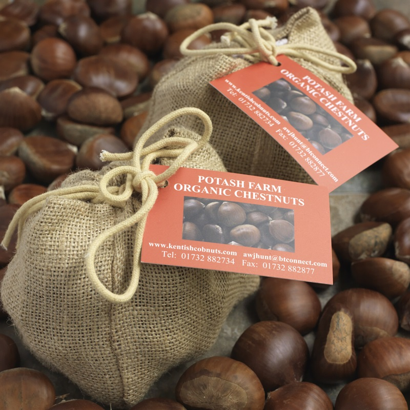 Farm Produced Chestnut Gift Bags