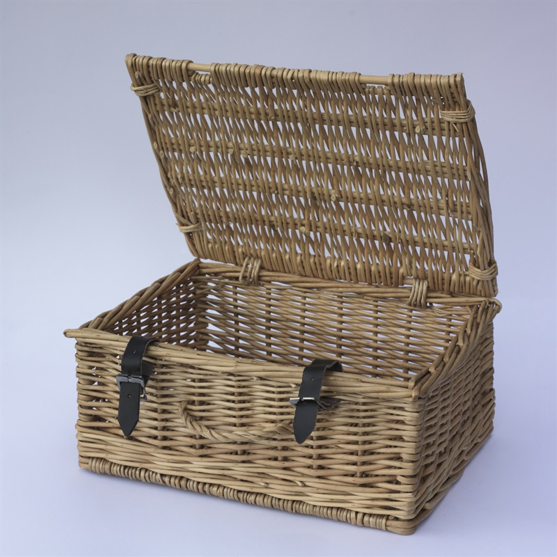 Medium Classic Cane Hamper Basket