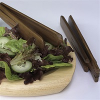 Teak Salad Tongs