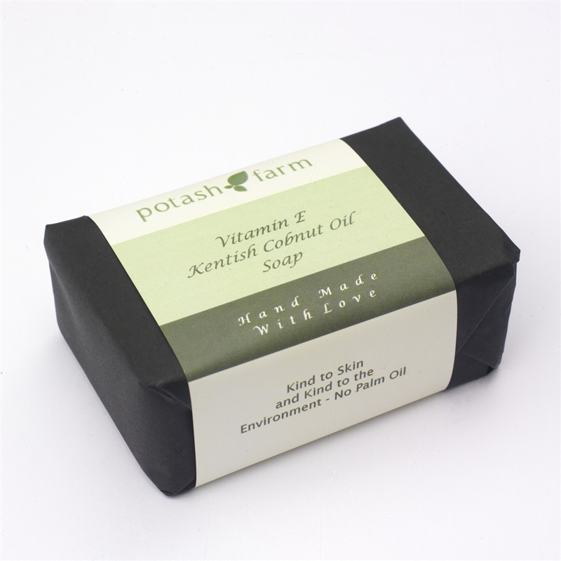 Handmade Kentish Cobnut Oil Natural Soap